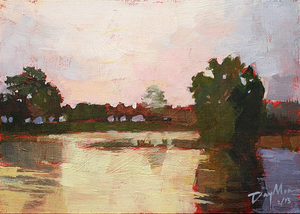 """""""Good Morning Bourgogne"""" original fine art by Mike Daymon"""