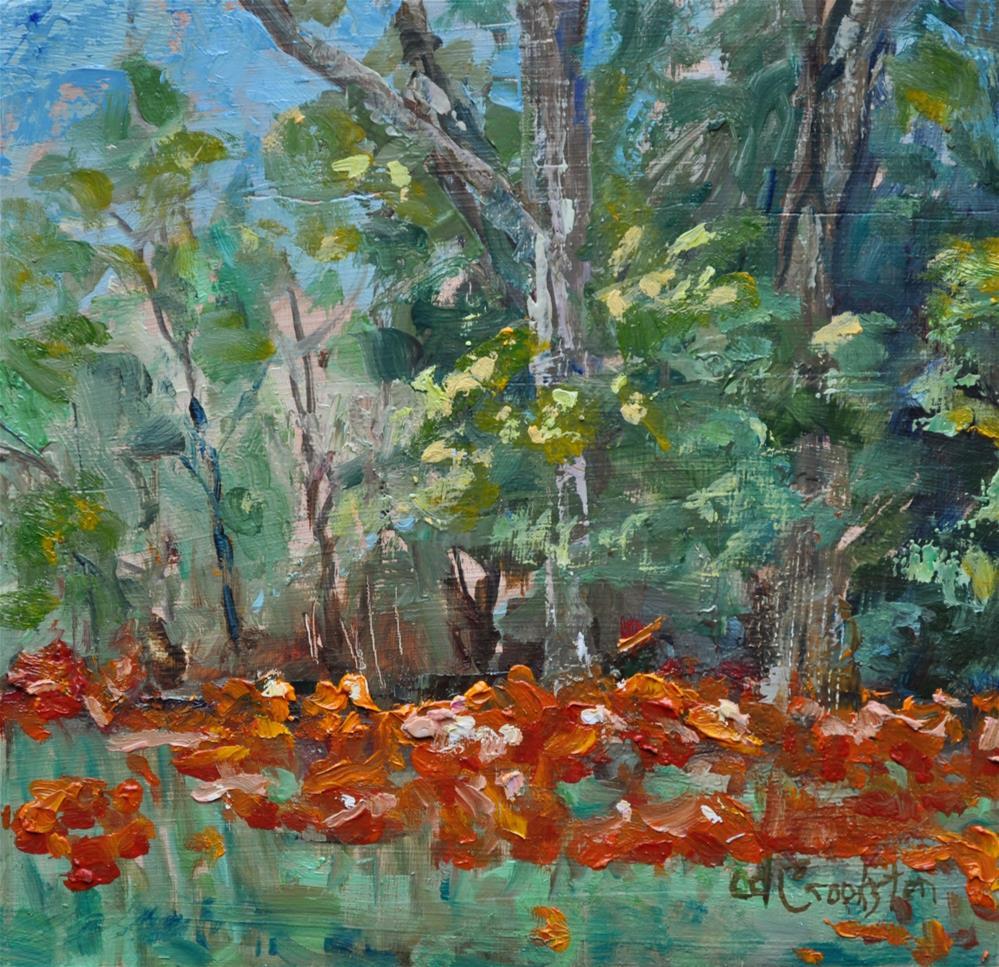 """Field of Poppies"" original fine art by Catherine Crookston"