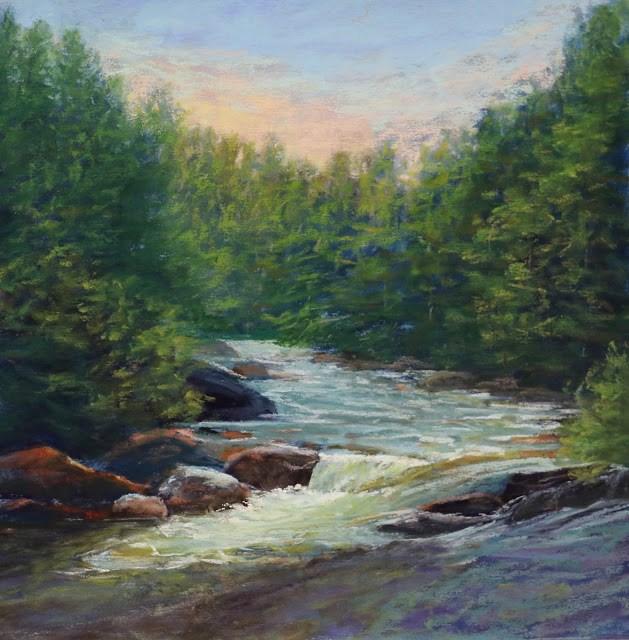 """New England Refuge"" original fine art by Sharon Lewis"