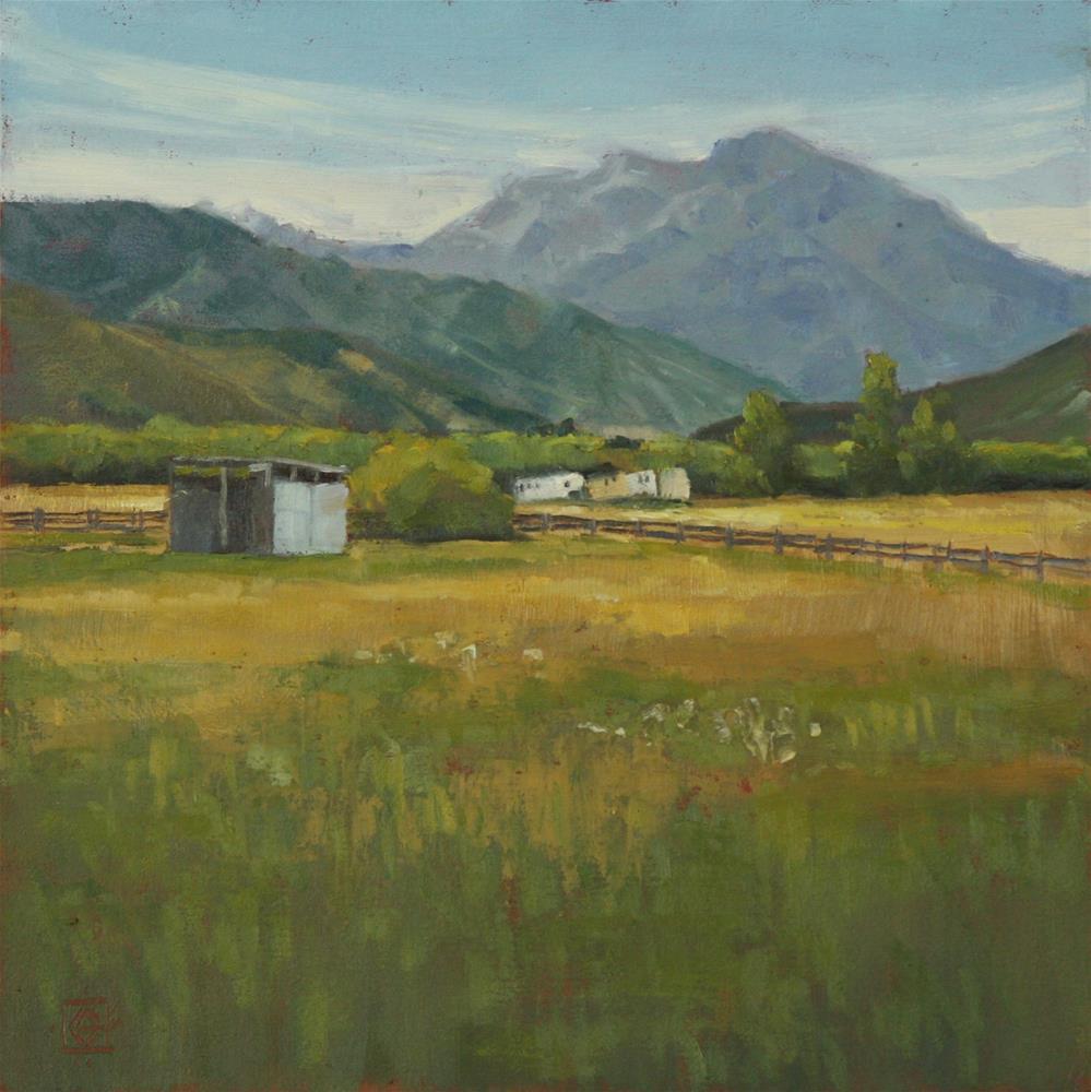 """Late Summer Pastures"" original fine art by Carol Granger"