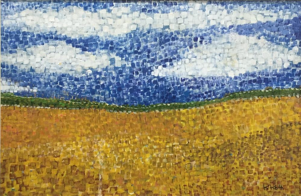 """""""Home Sky"""" original fine art by Kandice Keith"""