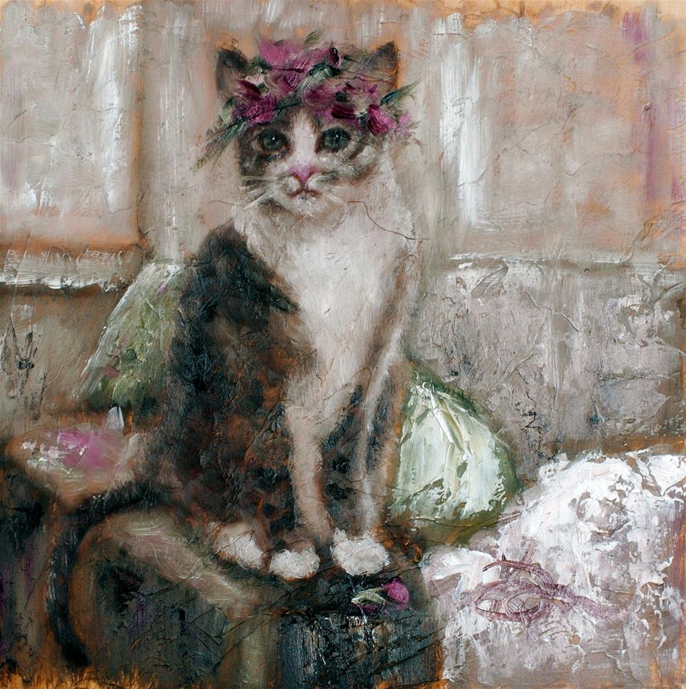 """Her Crown"" original fine art by Kelly Berkey"