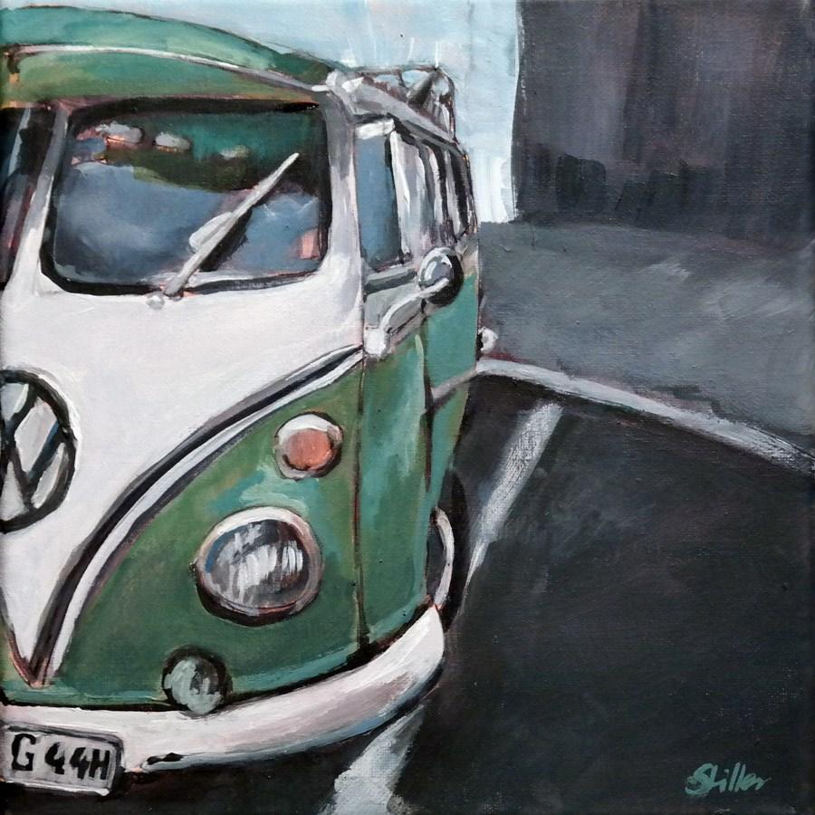 """""""1697 Bus-y"""" original fine art by Dietmar Stiller"""