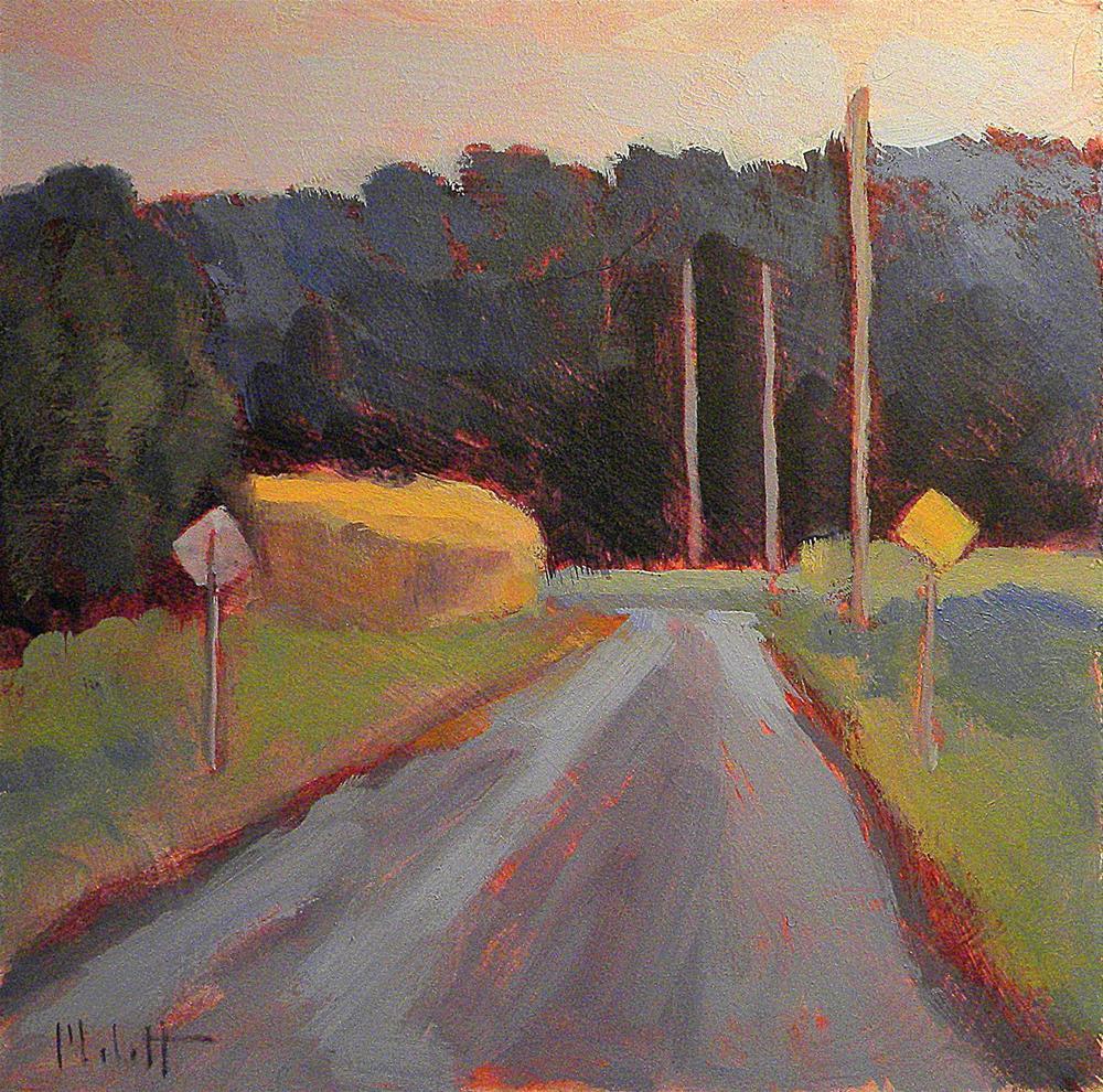 """Around the Bend Summer Landscape Original Oil Painting"" original fine art by Heidi Malott"