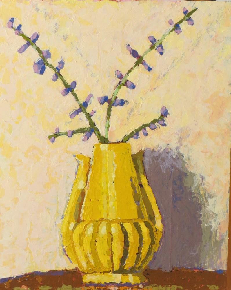 """""""Lavender McCoy"""" original fine art by Joan Wiberg"""