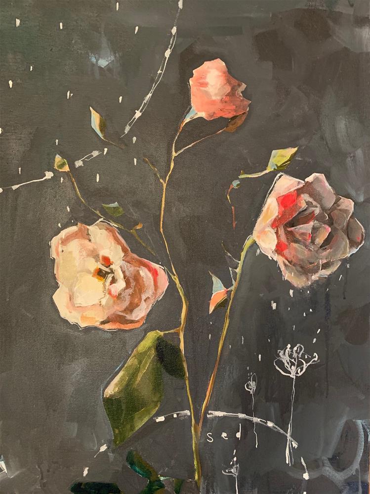 """735 Sed"" original fine art by Jenny Doh"