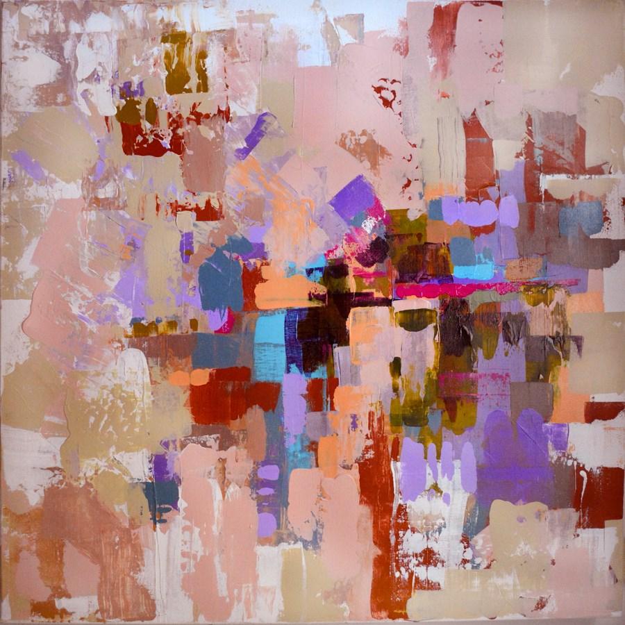 """Red Rocks"" original fine art by Pamela Gatens"