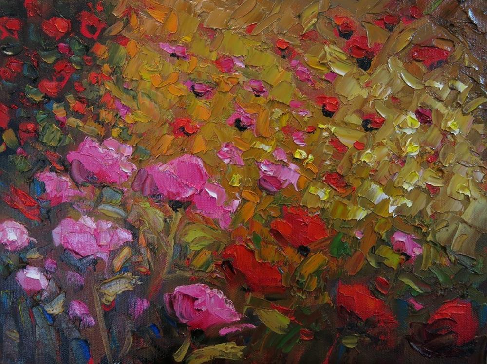 """IN THE LIGHT"" original fine art by Dee Sanchez"