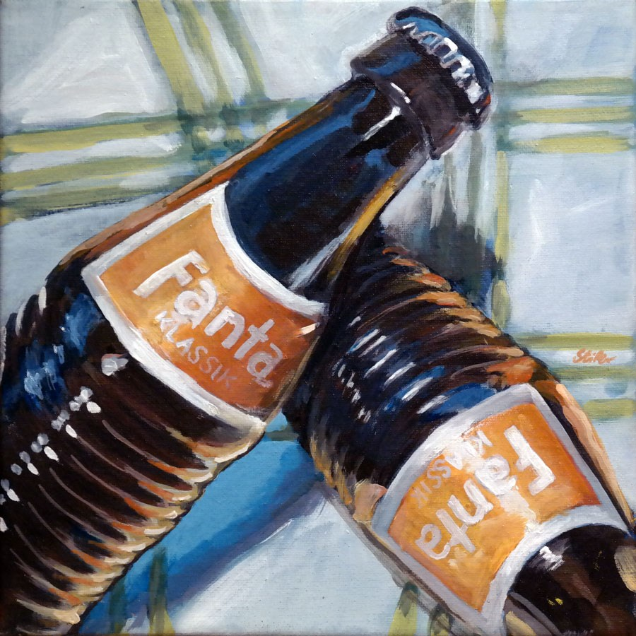 """1307 Fantastic"" original fine art by Dietmar Stiller"