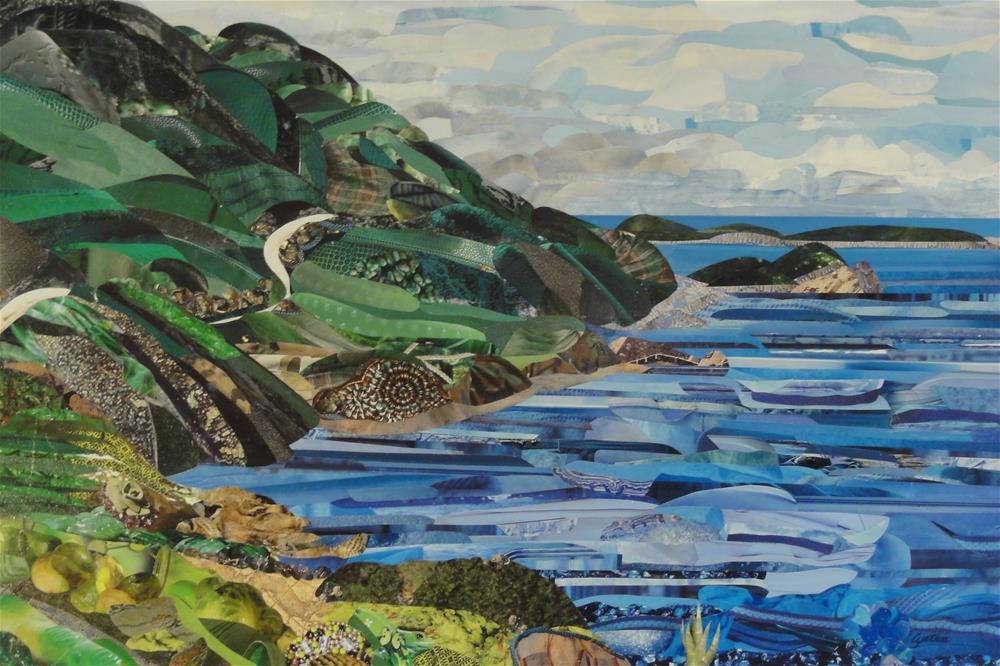"""The Highlands"" original fine art by Cynthia Frigon"