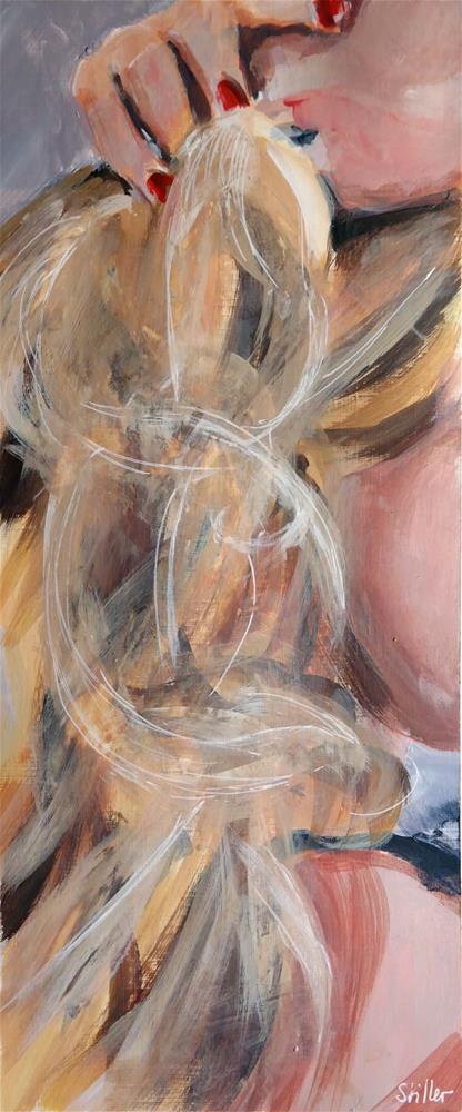 """""""3089 Smartface 05"""" original fine art by Dietmar Stiller"""