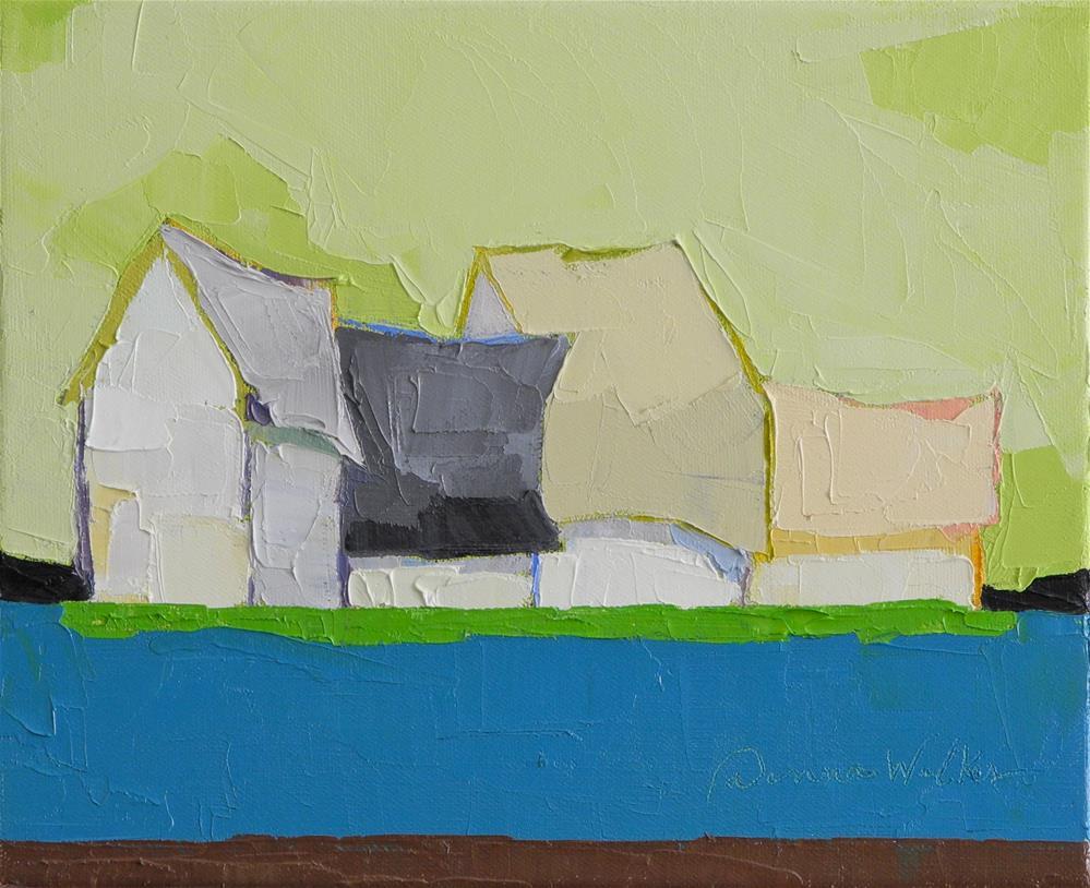 """Bright Symphony"" original fine art by Donna Walker"