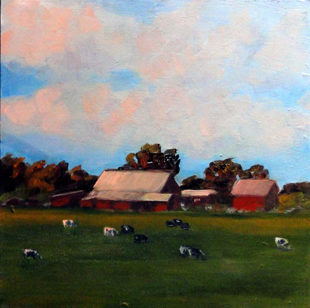 """Greener Pastures"" original fine art by Cietha Wilson"