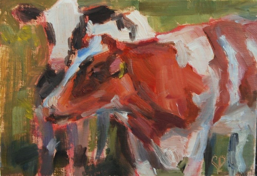 """Best Buds"" original fine art by Carol DeMumbrum"