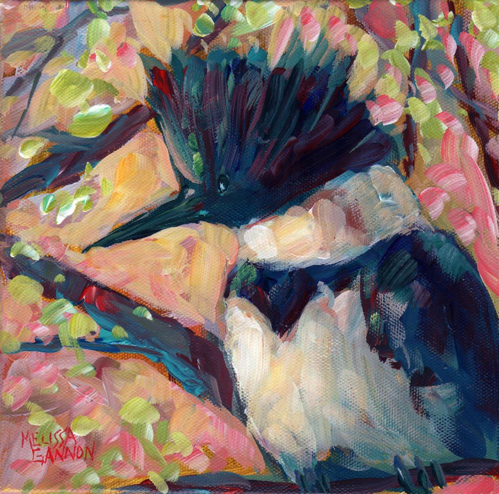"""""""Spring by the River"""" original fine art by Melissa Gannon"""