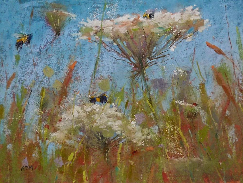 """""""Adding Life to Your Paintings"""" original fine art by Karen Margulis"""