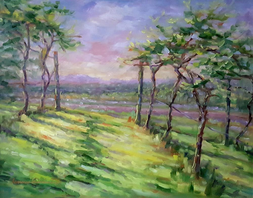 """""""From the Vineyard"""" original fine art by Tammie Dickerson"""