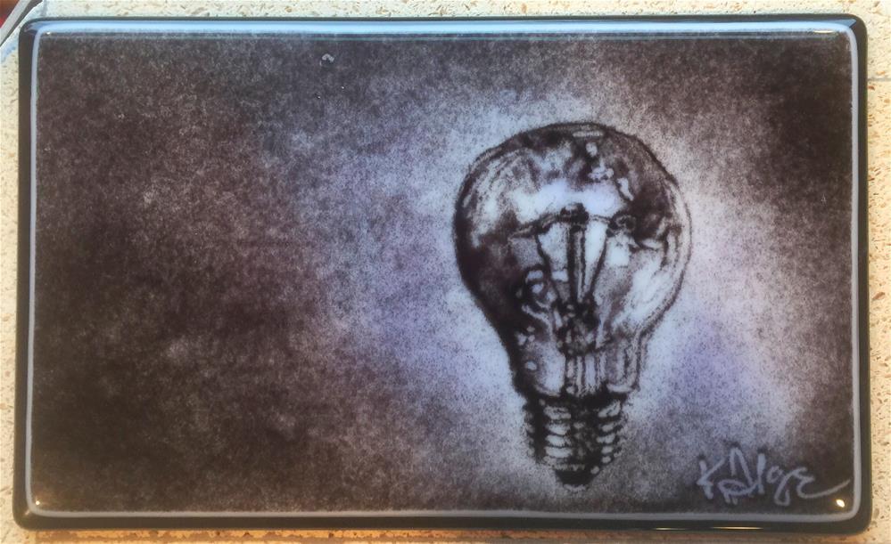 """""""Ideas"""" original fine art by Kelly Alge"""