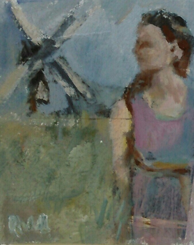 """Remembrance"" original fine art by Ann Rudd"