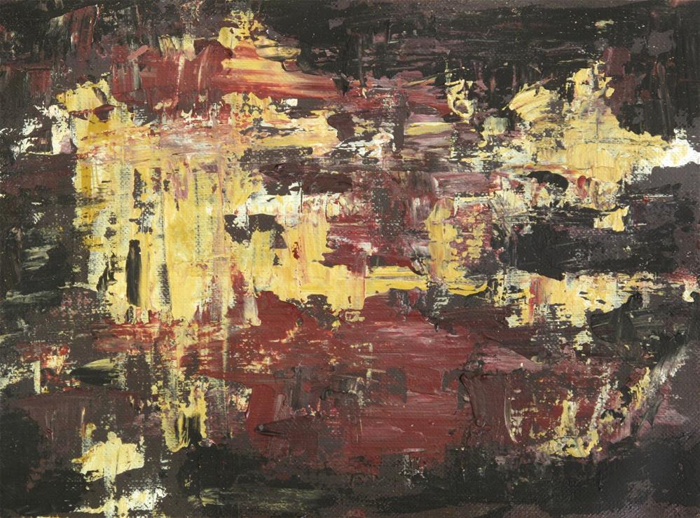 """Red velvet"" original fine art by Anna Starkova"