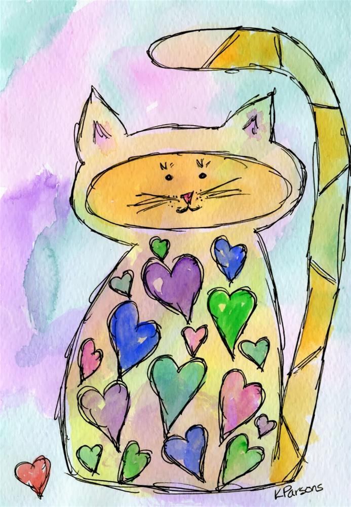 """""""In Disguise"""" original fine art by Kali Parsons"""