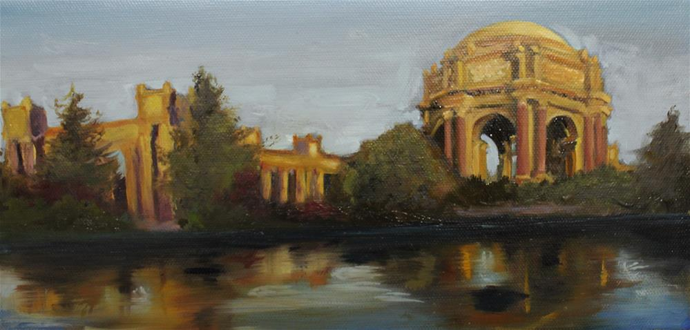 """Palace of fine arts San Francisco"" original fine art by Marco Vazquez"