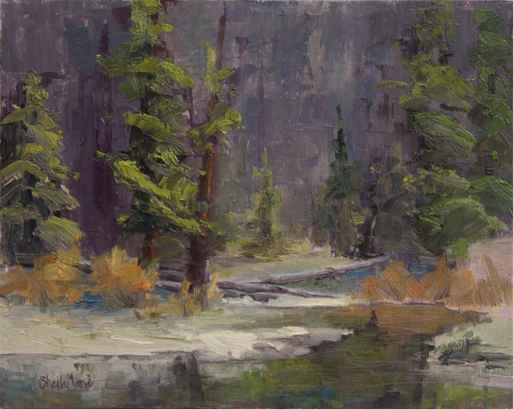 """""""Below Byers Peak"""" original fine art by Sheila Marie"""