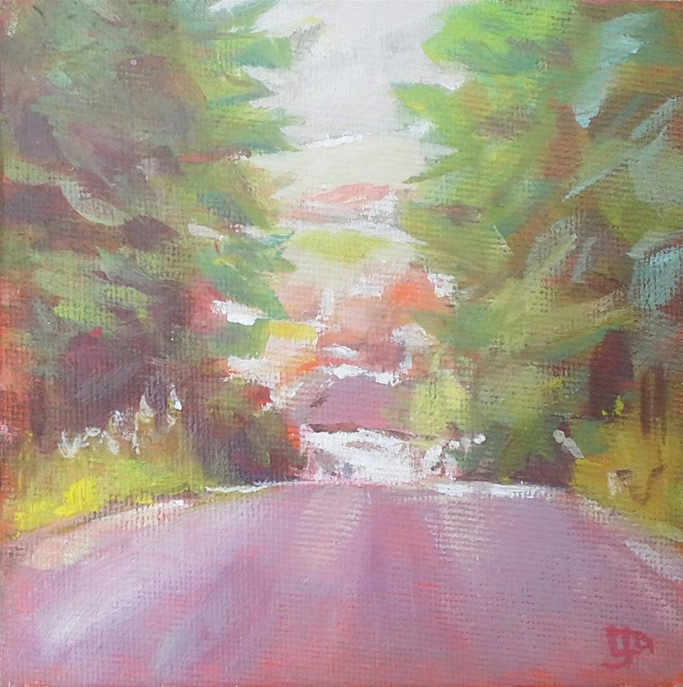 """""""Homeward Bound"""" original fine art by Leanne Owen"""