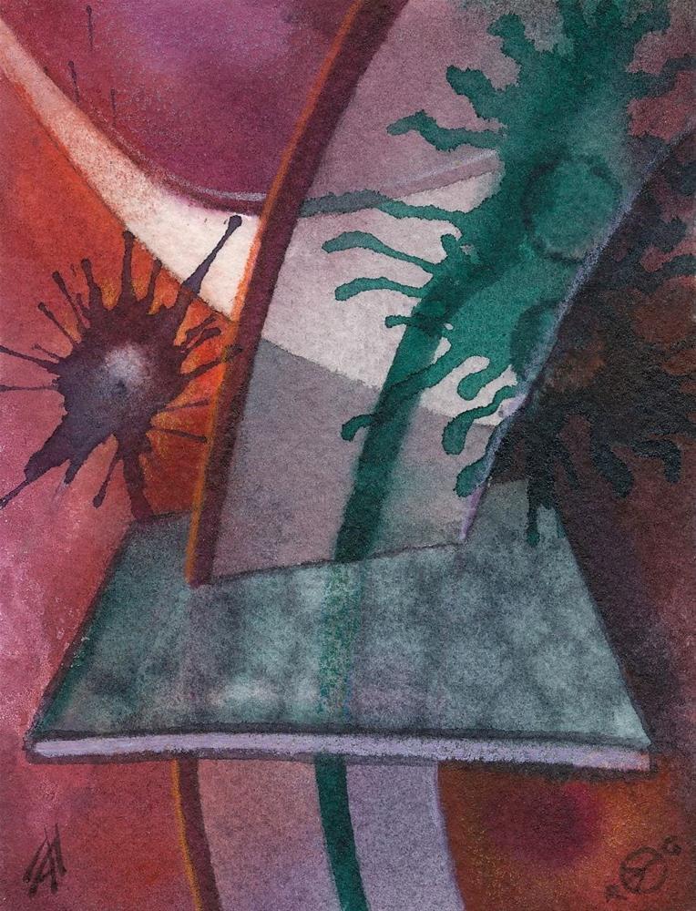 """Event Horizon"" original fine art by Mark Allison"