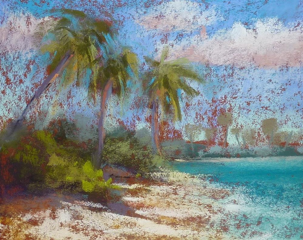"""Tropical Paradise"" original fine art by Karen Margulis"