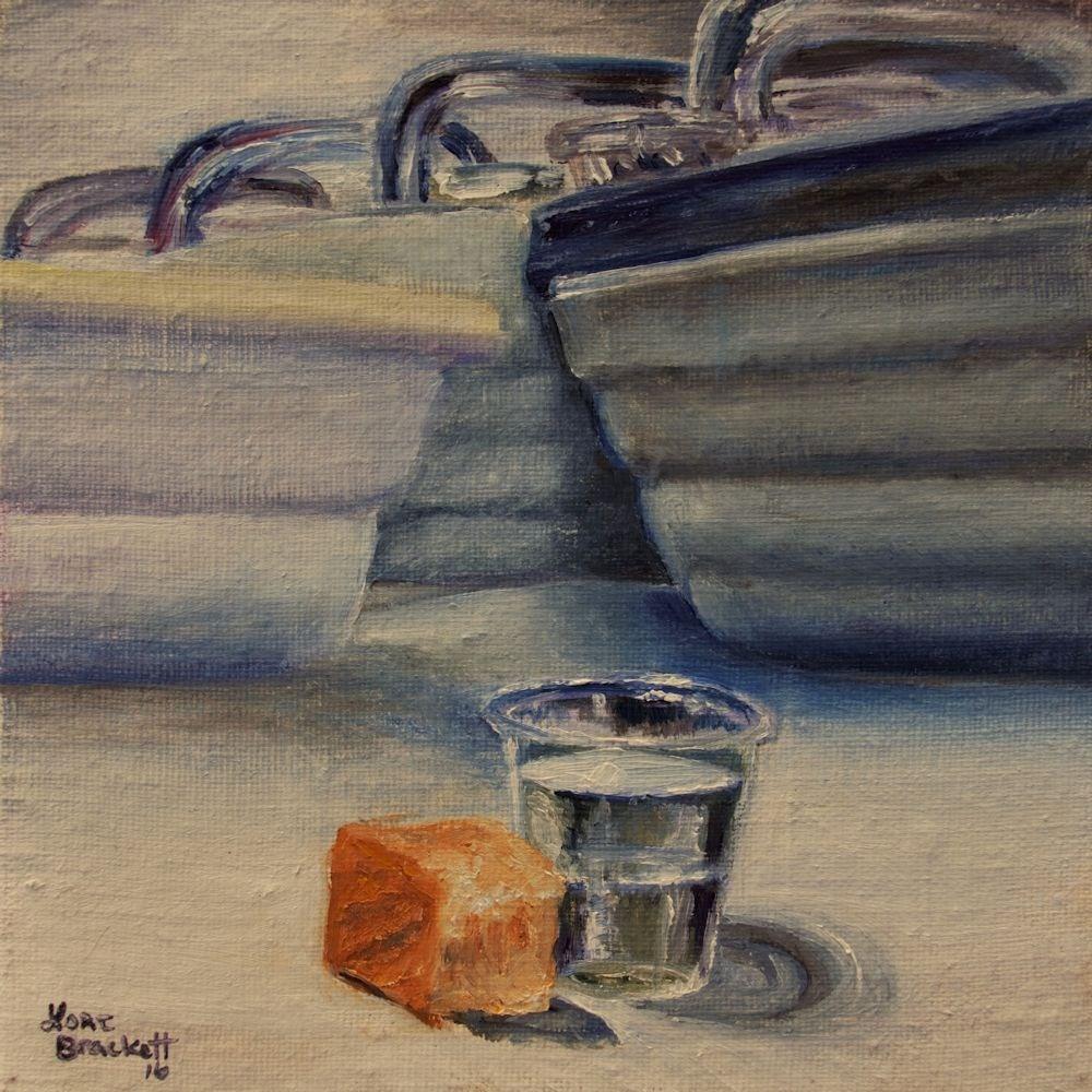"""Sacrament"" original fine art by Lori Brackett"