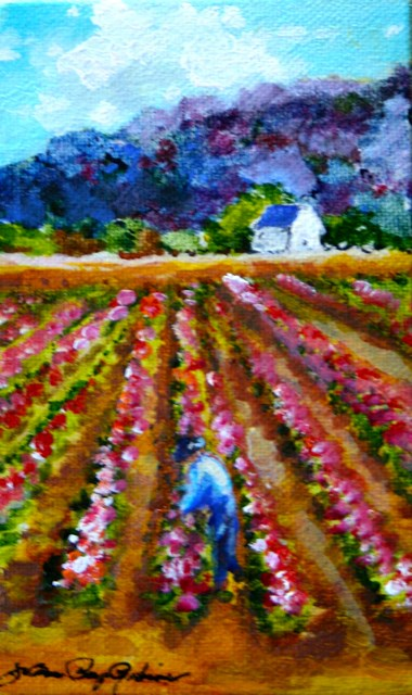 """Baby Bouquets"" original fine art by JoAnne Perez Robinson"