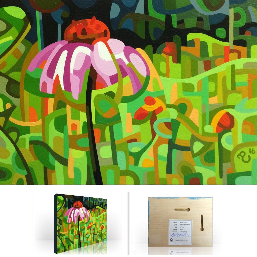 """Landscape Study #81"" original fine art by Mandy Budan"