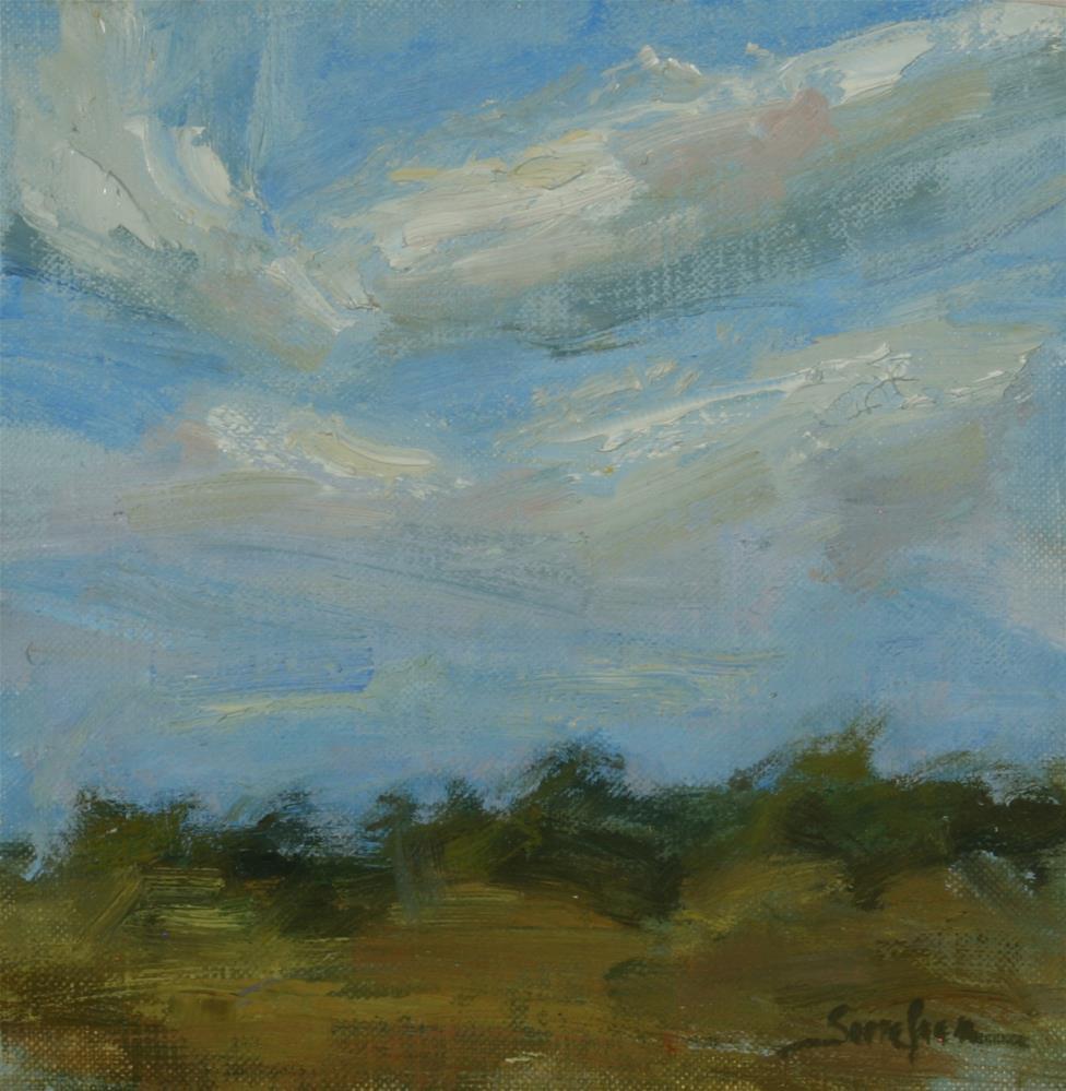 """Bright Day "" original fine art by Scott Serafica"