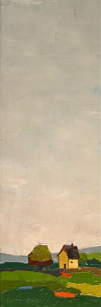"""""""Tall Sky"""" original fine art by Donna Walker"""
