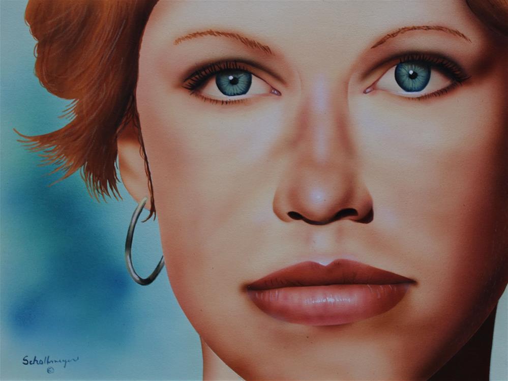 """That Face!"" original fine art by Fred Schollmeyer"