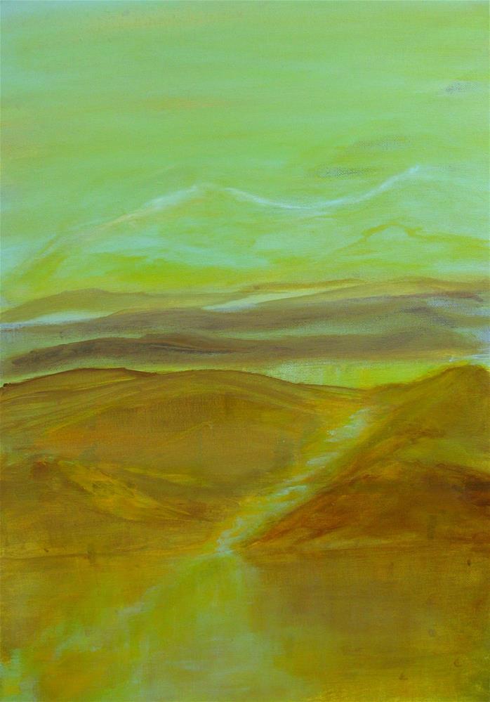 """Layers 2"" original fine art by Alina Frent"
