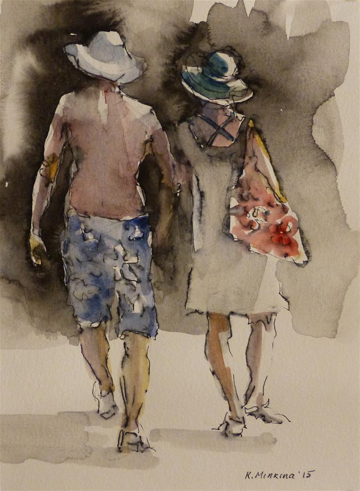 """maui9"" original fine art by Katya Minkina"