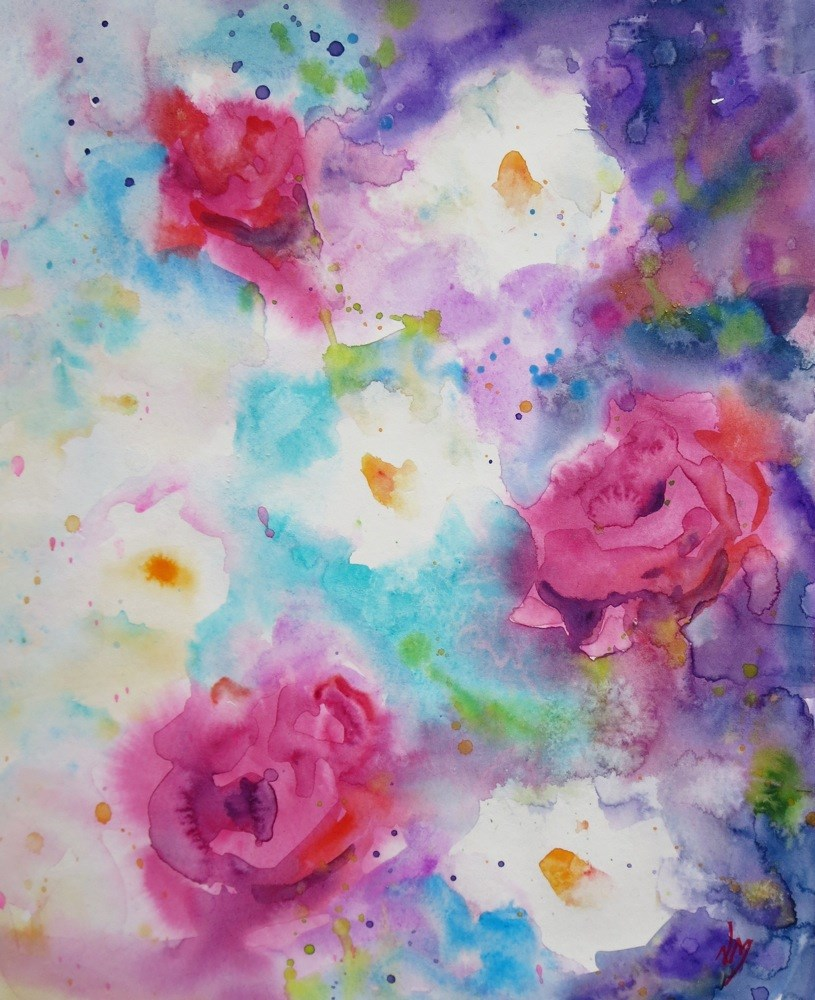 """""""on a whim"""" original fine art by Nora MacPhail"""