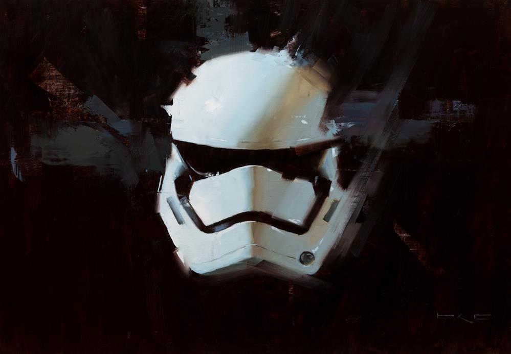 """Stormtrooper"" original fine art by Thorgrimur Andri Einarsson"