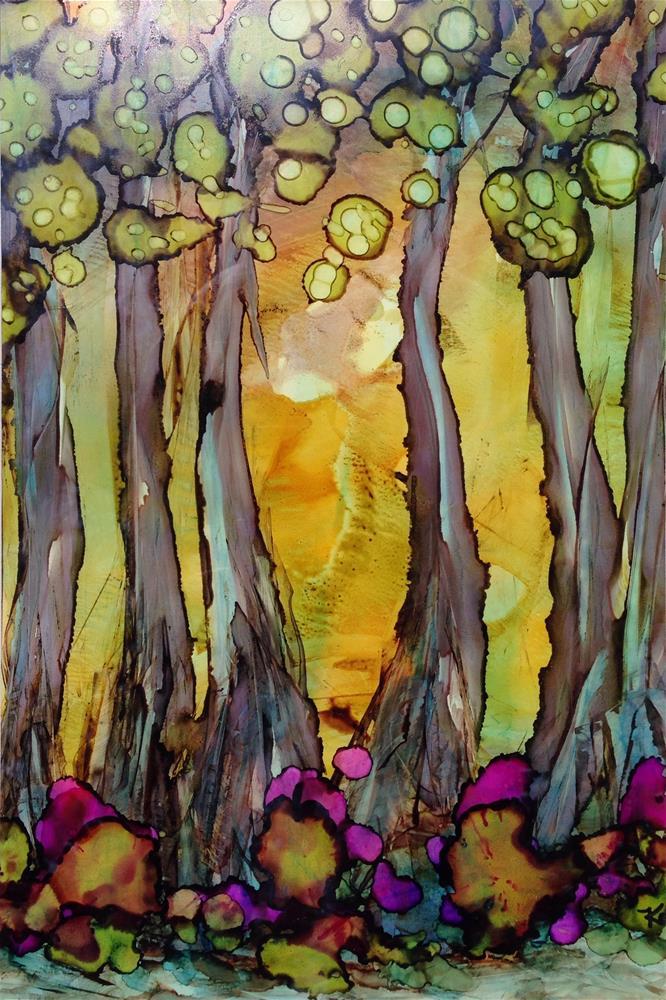 """hobbit spring"" original fine art by Kris Alge"