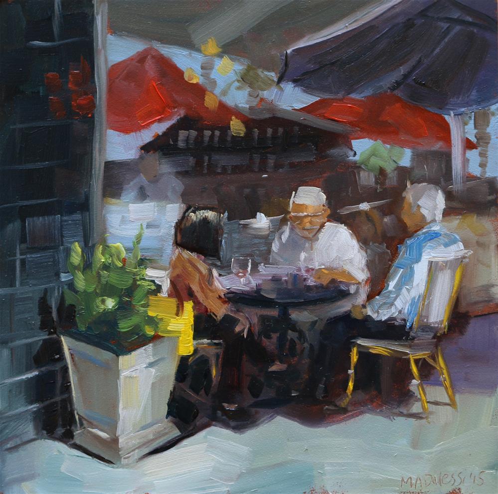 """""""Yellow bag"""" original fine art by Miranda Dalessi"""