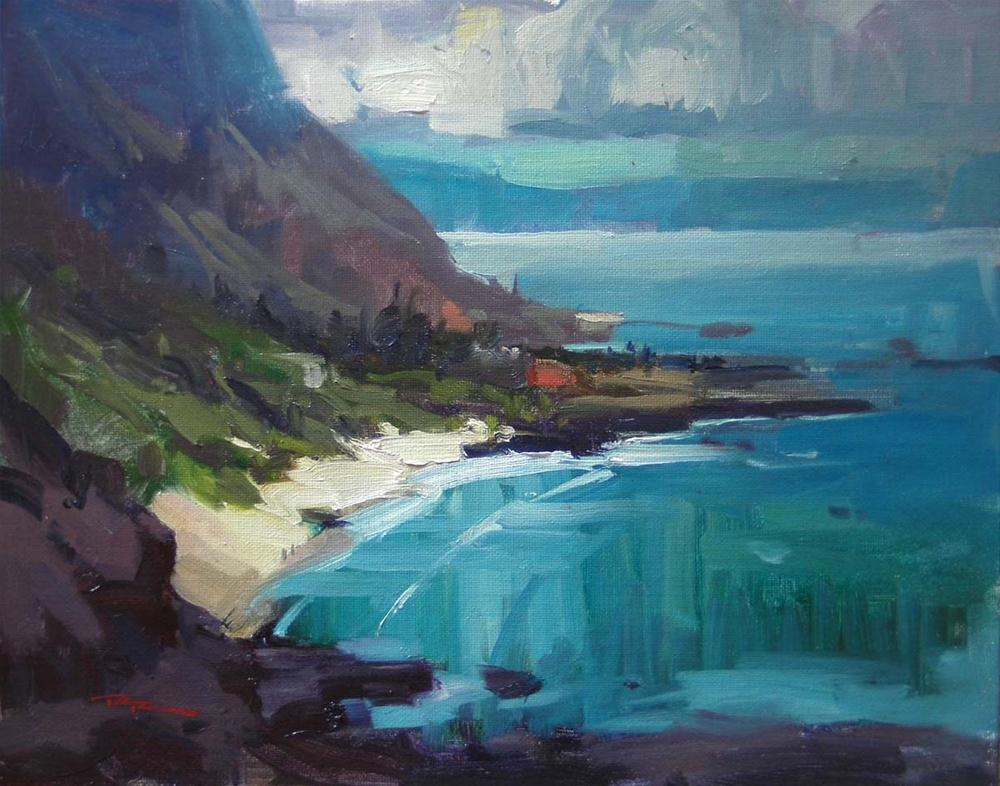 """Makapu'u Point"" original fine art by Richard Robinson"