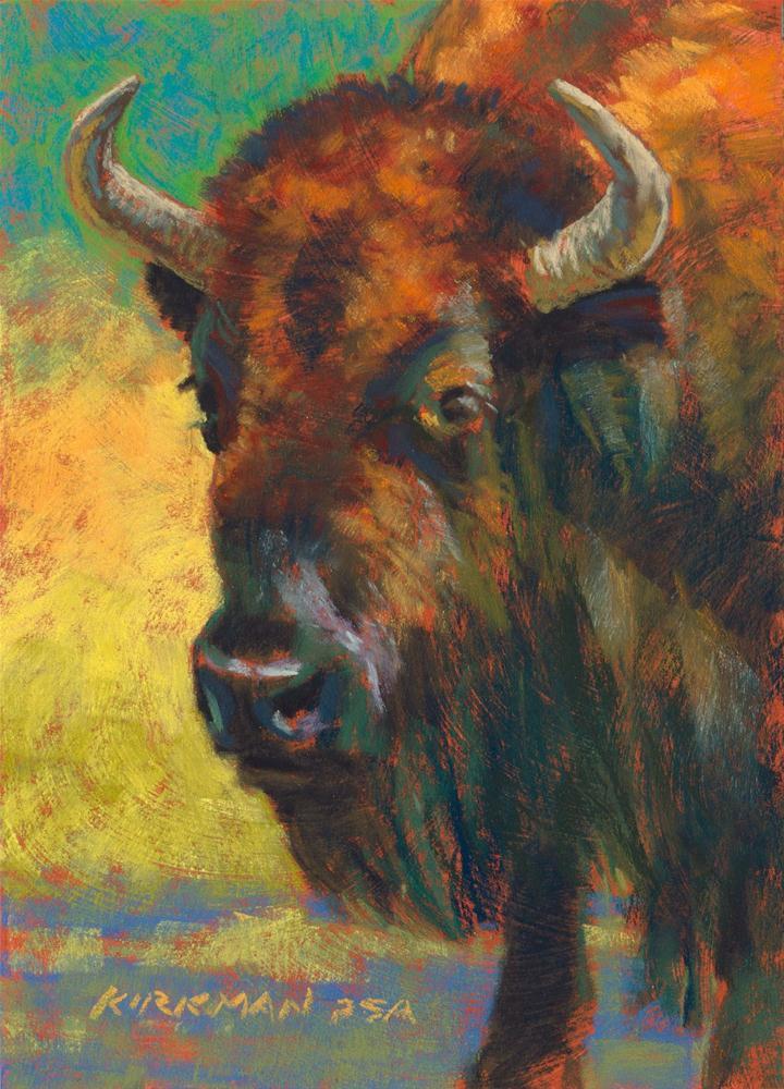 """Bufus"" original fine art by Rita Kirkman"