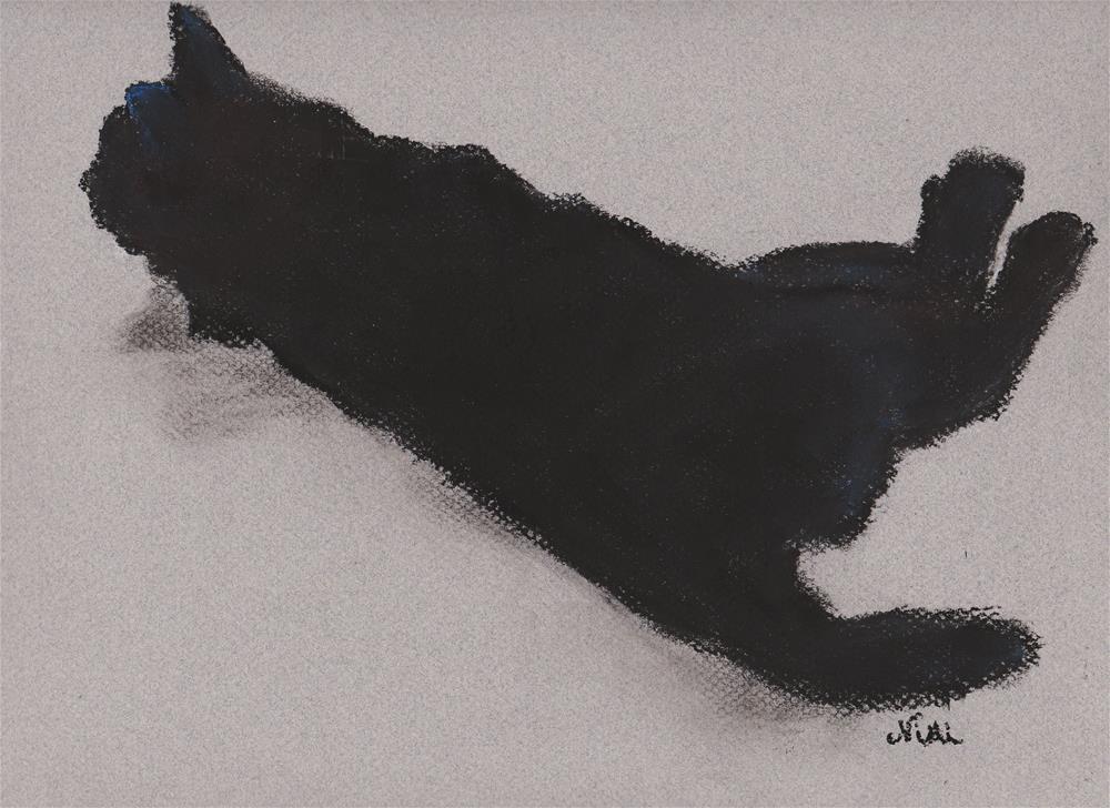 """Twist"" original fine art by Niki Hilsabeck"