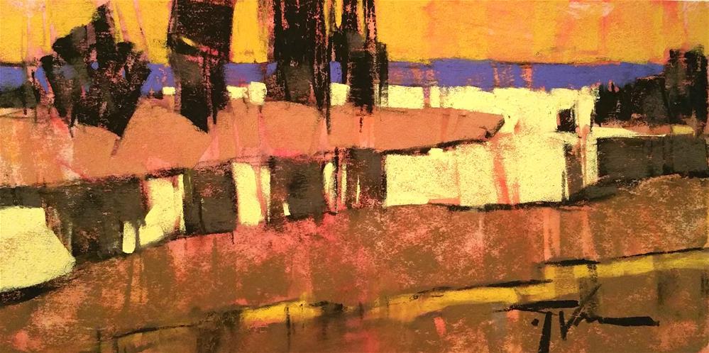 """Sentries On Loop Trail"" original fine art by Jennifer Evenhus"