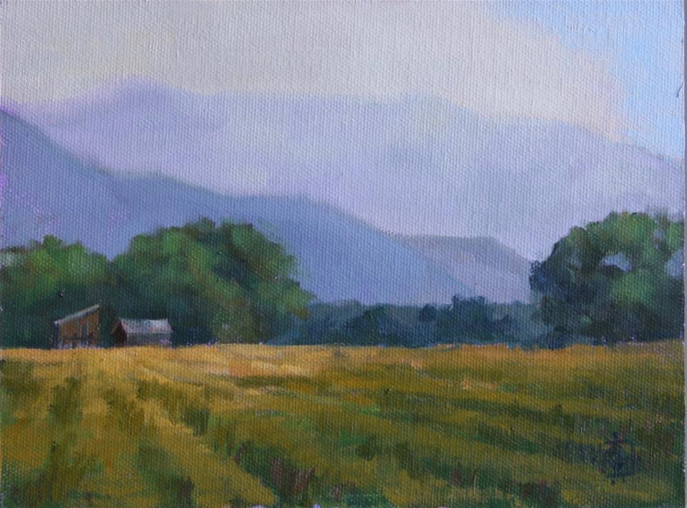 """""""Probst Ranch"""" original fine art by Carol Granger"""