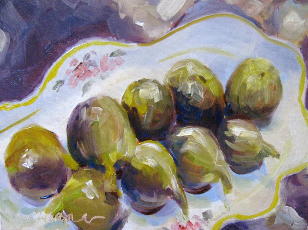 """Hoomani Figs"" original fine art by Susan Elizabeth Jones"