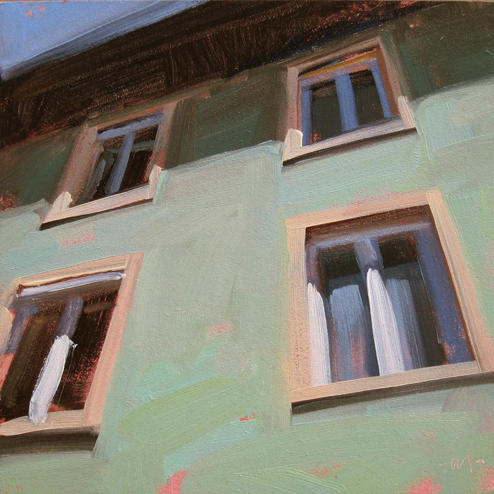 """Looking Up"" original fine art by Carol Marine"