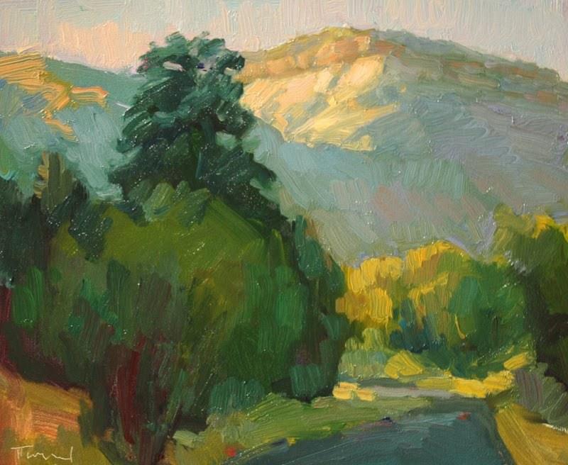 """Utah Backroad"" original fine art by Kathryn Townsend"